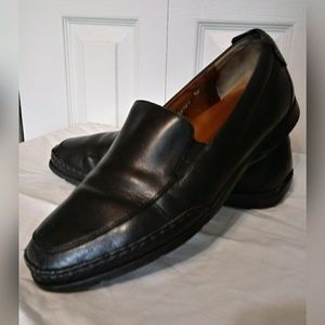 Mephisto Men's Edlef Black Leather Slip-Ons SZ 11
